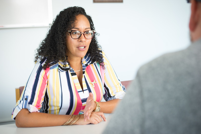 Interview with EOP counselor Jocelyn Tejeda at SUNY Buffalo State College.