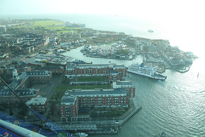 View from Spinnaker Tower