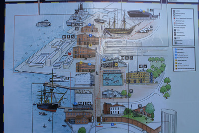 Historic Dockyard in Portsmouth
