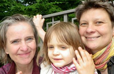 Luitgard, Anna und Bea