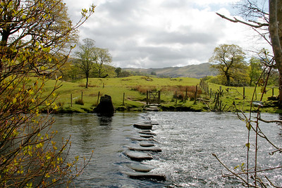 Stepping Stones over River Rothay