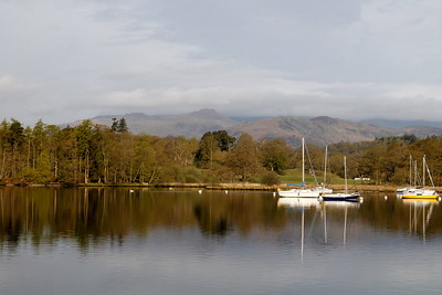 Lake Windermere, seen from Ambleside Youth Hostel