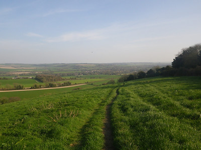 way down from Beacon Hill into Exton