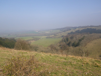view from Old Winchester Hill (197 m)