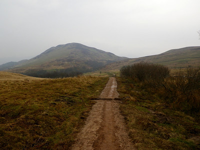 Approaching Conic Hill, with 361m one of the two major ascents of the WHW. Located on the Highland Boundary Fault, it seperates the Lowlands from the Highlands.
