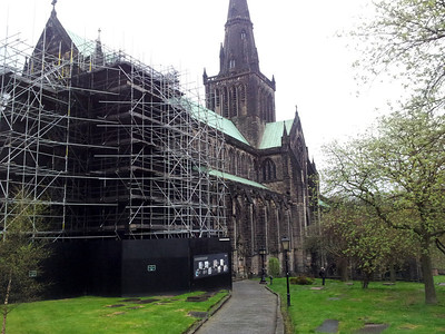 Glasgow Cathedral -The only medieval cathedral on the scottish mainland to have survived the Reformation!