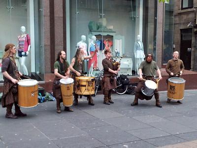 Scottish folk with samba twist