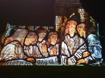 Wimborne Minster Festival of Light