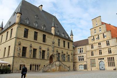 Das Osnabruecker Rathaus