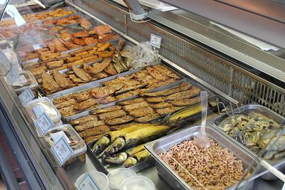 Lokaler Fisch in Accumersiel
