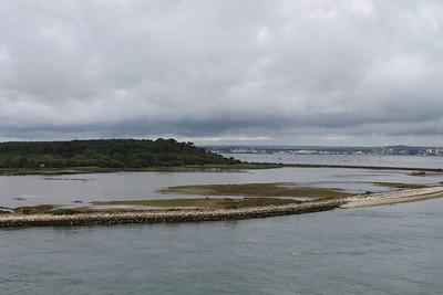 lagoon at Brownsey island
