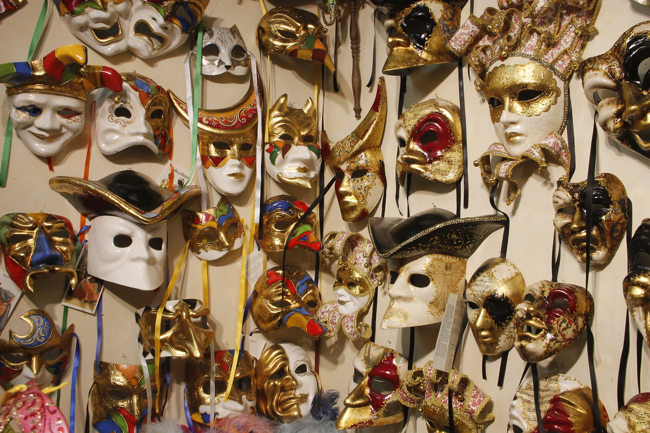 Many masks to choose from