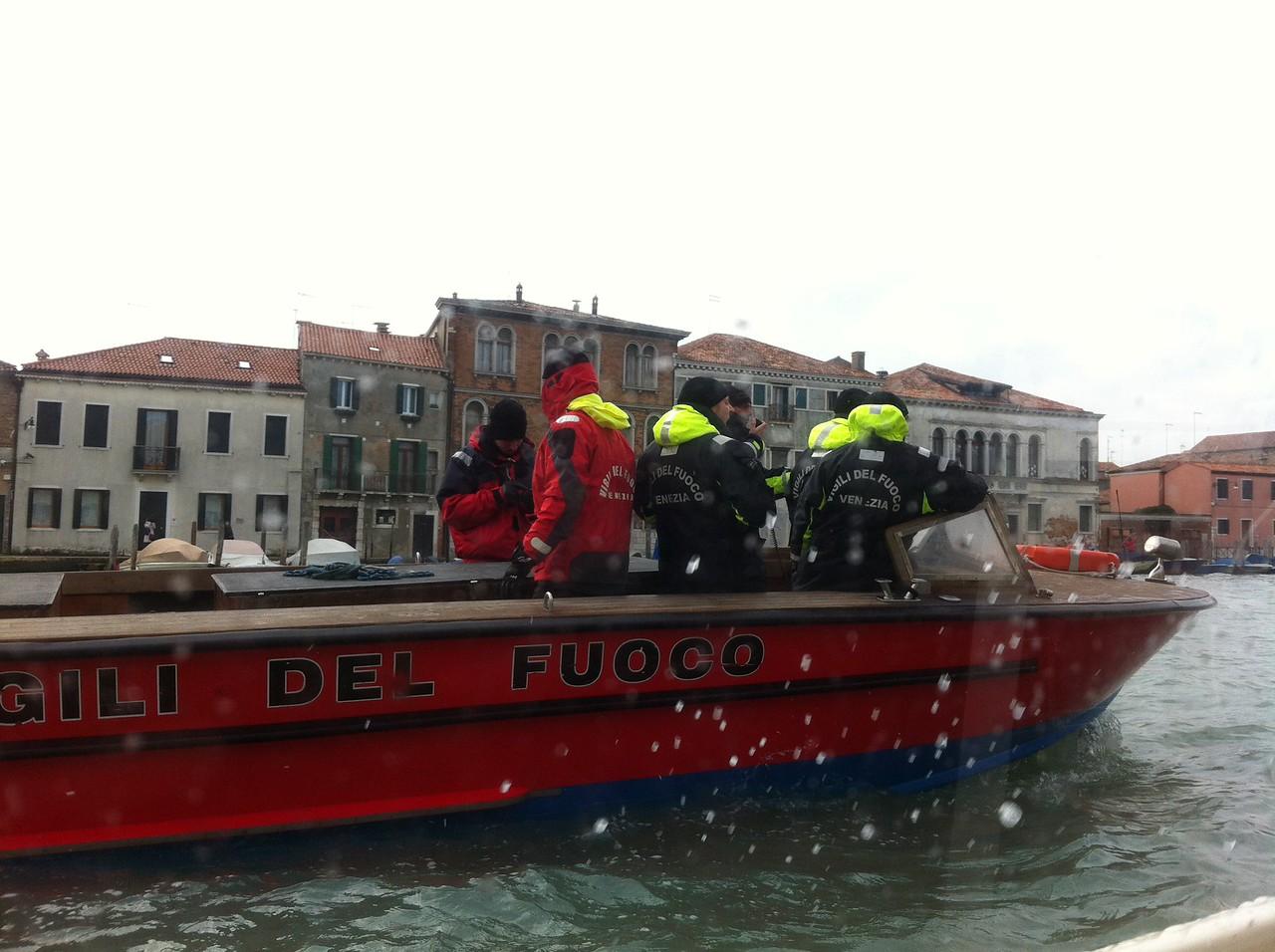Venice fire services