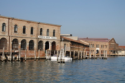 One of many furnaces on Murano island