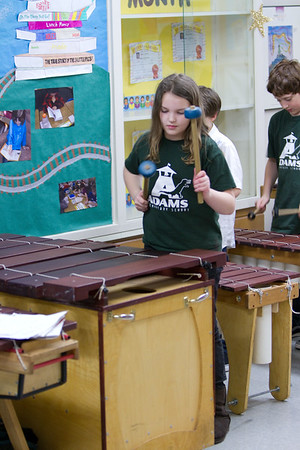 20110315 Sophie On Marimba