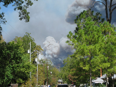 2011 Bastrop Fire pictures