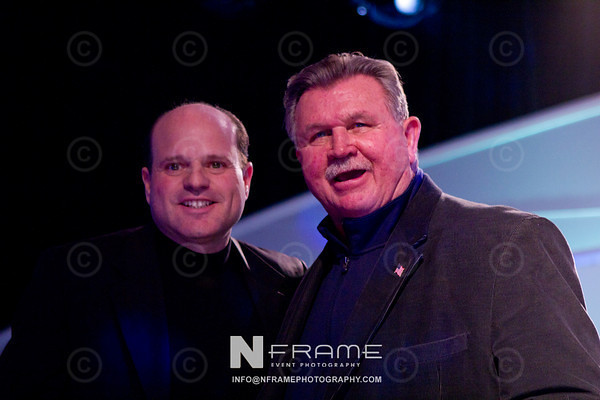 Jose Feliciano and Coach Ditka