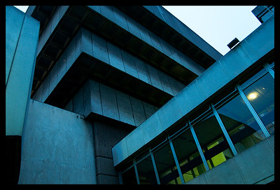 2011 Brutalist Library