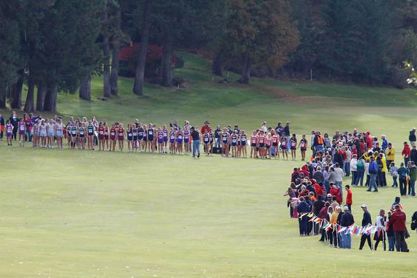 '11 Regional Championships - 3A Varsity Girls