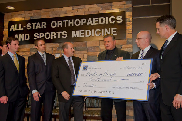 All Star Ortho Doctors and Coach Ditka