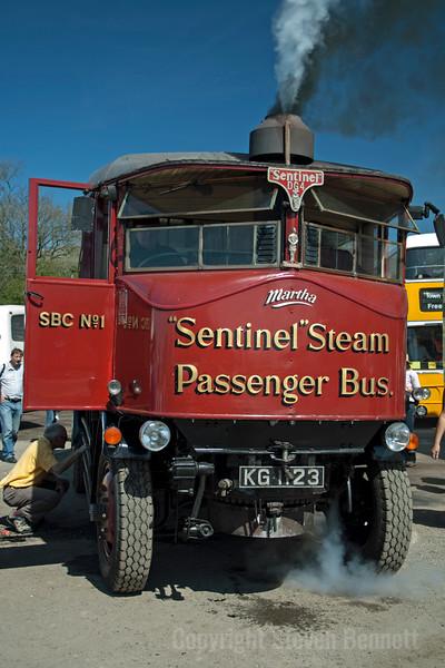Sentinel Steam Bus