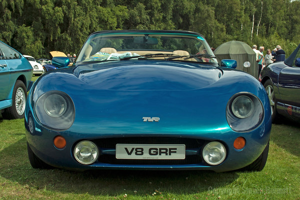 Lytham Hall Classic Car Rally 2011