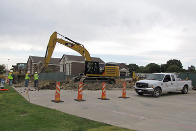 Connecting of the sewer line. 9/22