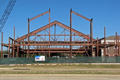 Southside main girder truss. 1/20/2012