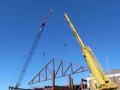 It's gonna take 2 cranes!