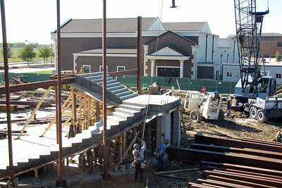 More progress on the monumental staircase. 11/23