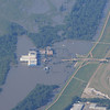 Flooded Casino South of Memphis, near Tunica, MS