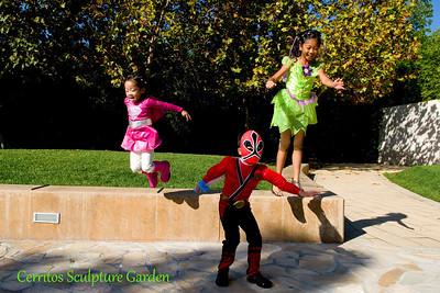 Cerritos Sculpture Garden: October 30, 2011