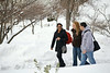 2011; campus; snow; student; winter