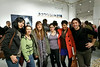 2011, CART, MFA, Art students at CAA NYC exhibition at Hunter College