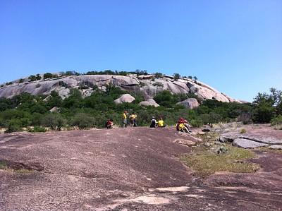 2011 May Climbing Enchanted Rock