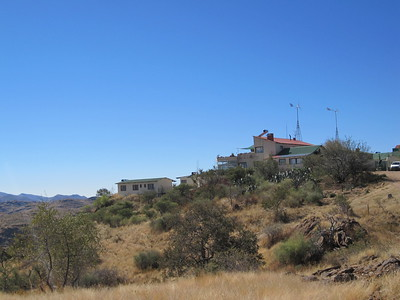 Hakos Guest Farm, residence and observatory for two weeks.
