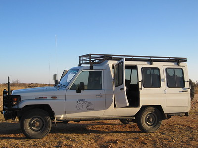 Our transport from the airport to the Hakos Guest Farm on the monday morning of July 25th.