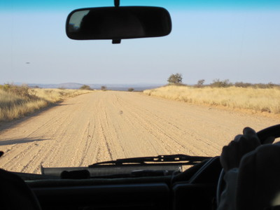 On the way to Hakos Guest Farm on gravel roads only.