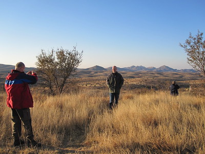 First introduction to the Namibian Landscape.