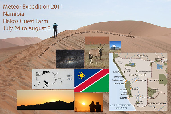 Meteor Expedition 2011 | Namibia