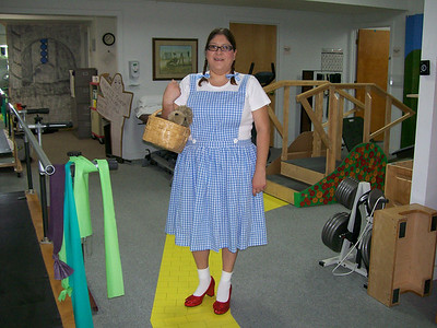 """Dorothy--There's no place like home!"""