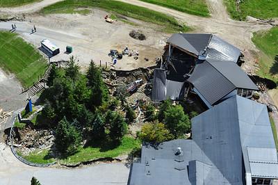 Collapsed base lodge at Killington Ski Area2