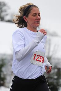 Katie Kardashian was the first woman finisher