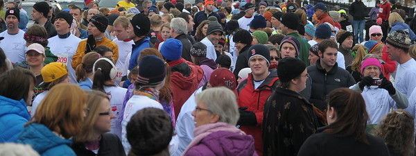 over 1000 runners and walkers regestered for the event
