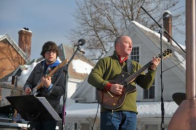 John Snyder (right) Harry Borsh (left)