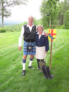Ron Pam & his homemade kilt