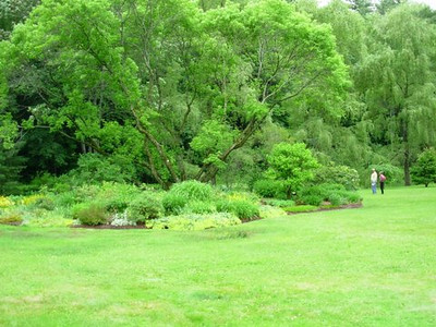 Island beds at Grant-Suttie/Lang Gardens