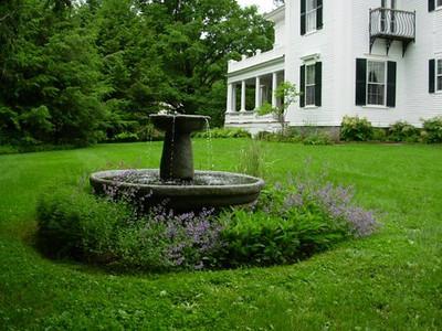 A Faulkner Mansion Garden