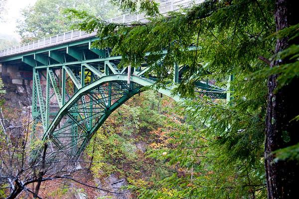 Quechee Gorge Bridge Party - 100 Years