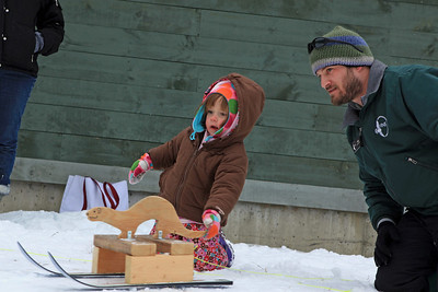 Raptor Recreation The second annual Winter Carnival at Vermont Institute of Natural Science in Quechee gave families the chance to see some of the raptors kept there for rehabilitation, as well as to take in some winter fun. Stephen McKay Photos